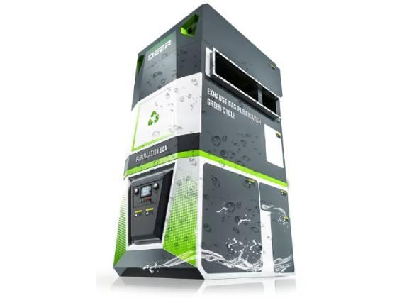 PURIFIED BOX有机废气吸附脱附一体机